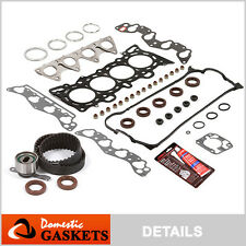 Fit 96-00 Honda Civic 1.6 SOHC Head Gasket Set Timing Belt Kit D16Y7 D16Y8 D16Y5