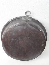 Antico Tegame pentola in rame stagnato XIX secolo 1,650 kg  diametro 30 cm