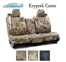 Coverking Custom Seat Covers Ballistic Canvas Front Row - Kryptek Camo
