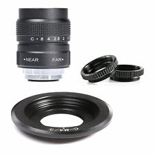 FUJIAN 25mm f/1.4 CCTV Lens+C Mount for Micro 4/3 m4/3 EPL5 EPM3 EPL7 OM-D B