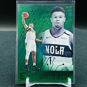 2019-20 Chronicles Basketball Zion Williamson Green Foil New Orleans Pelicans E