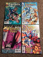 Fantastic Four Comics Annual Marvel Comics Direct Edition Lot Of 4 Comics
