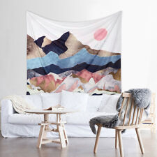 Wall Hanging Tapestry Poster Psychedelic Moon Bedspread Throw Home Cover Decor