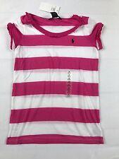 RALPH LAUREN T-Shirt Dünn Mädchen rosa Gr.M (8/10) NEU