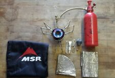 MSR Dragonfly multi fuel stove in clean working order including accessories
