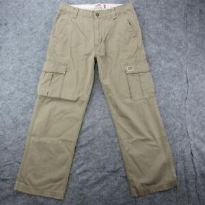 Levi's Cargo Pants Men's 33x30 Tan Loose Straight Cargo Pants
