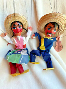 Mexican Marionette String Puppets