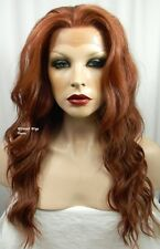 HEAT OK! LACE FRONT Yvonne Wig from Sepia/West Bay .. color 130 - Foxy Red!! *