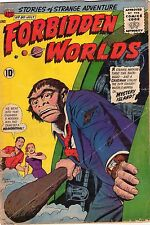 Forbidden Worlds #80 - Cavemen From Mystery Island - 1959 (4.0) Wh