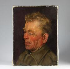 Bedeutender Holländischer Maler J.H. Eversen Portrait eines Mannes 1960