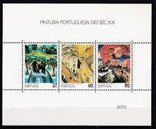 Portugal postfrisch 1988  MiNr. Block 61  Gemälde des 20. Jahrhunderts