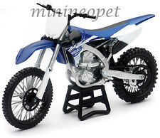 NEW RAY 57703 2015 15 YAMAHA YZ 450F YZ450F MOTORCYCLE DIRT BIKE 1/12 BLUE