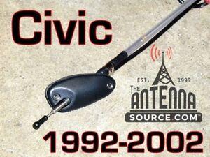 Honda CIVIC  Pillar Manual AM/FM Antenna 1992-2002 BRAND NEW + How 2 Install