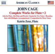 John Cage : John Cage: Complete Works for Flute - Volume 2 CD (2016) ***NEW***