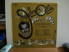 JOHNNY OTIS LP ROCK N' ROLL HIT PARADE ON RED VINYL, MEGA RARE   VG+/ EX