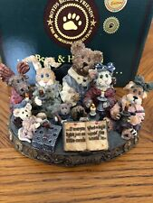 "Boyds Bear ""Light A Candle For A Brighter World"" - Limited Edition Piece"
