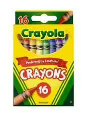 Crayola Classic Crayons, 16-ct. Packs Fast Shipping