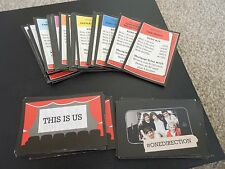 Spares - Full Set of One Direction 1D Monopoly Cards - Excellent condition