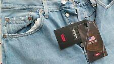 New Levi's 501 Premium Original Women's Jeans Sz W29 L30 High Rise Straight Blue