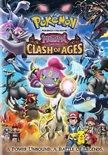 POKEMON THE MOVIE HOOPA AND THE CLASH OF AGES (DVD, 2016) NEW