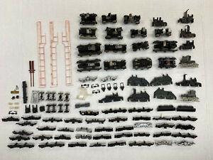 Assortment of Used HO Athearn, Lifelike, Locomotive Truck Frames & Parts.
