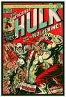 HULK 181 SMASHER WOLVERINE Signed Limited edition print MATT DYE BLUNT GRAFFIX