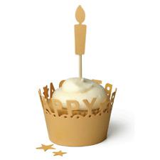 New listing Lifestyle Crafts Quickutz Happy Birthday Cupcake Liner Dc0132 We R 03045-2