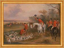 Bachelors Hall: The Death Francis Calcraft Turner Pferde Jagd Hunde B A3 01822