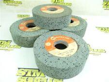 "New listing 4 New Macklin Silicon Carbide Grinding Wheels 5"" X 1-1/2"" X 1-1/4"" Gc80 J12V8-P"