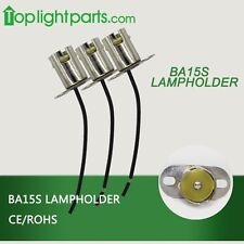 (10pcs) x BA15s 1156 Auto Light Boat Bulb Light Fitting Lamp Holder Light Socket