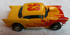 1970s TYCO PRO HO SLOT CAR 57 CHEVY WORKS