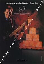 Bruce Foxton Jam SLF UK 'Guitarist' Trade Press advert