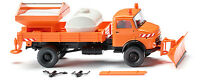 Wiking Flatbed Dumper Winter Service 064607 HO Scale (suit OO also)