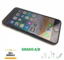 iPhone 7 32GB Nero SCATOLA Apple Ricondizionato Accessori Garanzia GRADO A/B