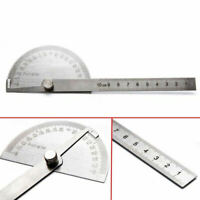 180° Winkellineal Winkelmesser Edelstahl Messwerkzeug Gradmesser Lineal Schmiege