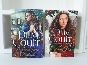 Collection of 2 x Paperback Saga Books - Dilly Court - Rag and Bone - NEW