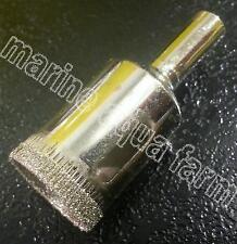 AQUARIUM 20mm DIAMOND GLASS HOLE CUTTER, CORAL, MARINE, TANK, SUMP PIPE BULKHEAD
