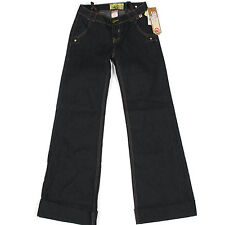 NWT Mecca Femme Raw Indigo Blue Beaded Back Pocket Denim Jeans size 3/4 $79.00