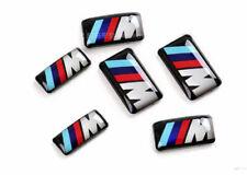 Neu 4x Bmw M Emblem Logo Aufkleber M-Zeichen Sticker Felgen Lenkrad 36112228660
