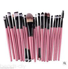 20Pc Make up Brushes Set Powder Foundation Eyeshadow Eyeliner Lip Cosmetic Brush