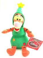 Walt Disney Winnie The Pooh Tigger Christmas Tree Toy Soft Plush Doll 22cm