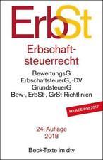 Erbschaftsteuerrecht (ErbSt) (1989, Taschenbuch)