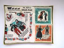 Pennsylvania Dutch Napkins Coaster Set Paper PA Dutch Snak Pak Folk Art Germany