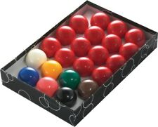 """PowerGlide 2"""" (51 mm) Snooker Balls 22 Ball Set"""