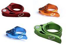Abrazadera de sillín drössiger Con Tensor rápido 31,8 O 34,9mm Diversos Colores