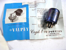 A Vintage Valpey Crystal Oven Nos Type Vco-2 In Box W/ Manual