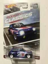 New ListingHot Wheels 2018 Car Culture Modern Classics Renault 5 Turbo w/ Real Riders