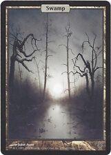 TCG MtG 187 Magic the Gathering Unhinged Full Art Land Swamp