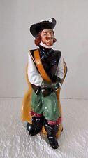 Royal Doulton Cavalier HN 2716 Signed Musketeer Porcelain Figurine Retired