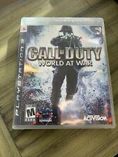 Call of Duty: World at War (Sony PlayStation 3, 2008)